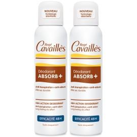 Rogé Cavailles déodorant absorb+ efficacité 48h 2 x 150 ml
