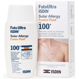Isdin UV Care FotoUltra Solar Allergy Fusion Fluid Spf 100+ 50 ml