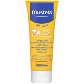 Mustela Bébé-Enfant Lait Solaire Spf 50+ Très haute protection 200 ml