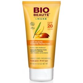 Nuxe Bio Beauté Solaire Lait Velouté Moyenne Protection SPF 20 150 ml