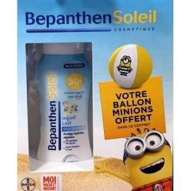 Bepanthen Soleil Coffret Lait Enfant spf 50 200 ml + Ballon de Plage Minions Offert