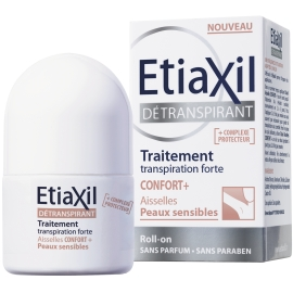 Etiaxil Déodorant Confort+ Aisselles Peaux sensibles roll-on 15 ml