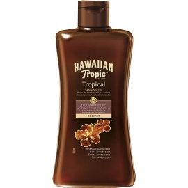 Hawaiian Tropic Huile De Bronzage Tropicale Sans Protection 200 ml