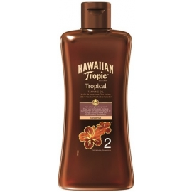 Hawaiian Tropic Huile De Bronzage Tropicale 2 Intense 200 ml