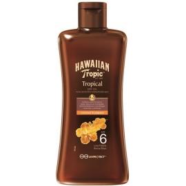 Hawaiian Tropic Huile Sèche Protectrice Spf 6 200 ml