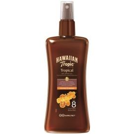 Hawaiian Tropic Huile Sèche Protectrice Spf 8 200 ml
