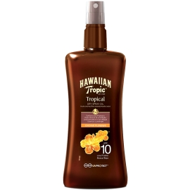 Hawaiian Tropic Huile Sèche Protectrice Spf 10 200 ml