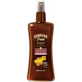 Hawaiian Tropic Huile Sèche Protectrice Spf 15 200 ml