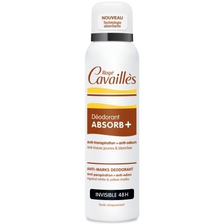 Rogé Cavaillesdéodorant absorb+ invisible 48h Spray 150 ml