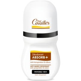 Rogé Cavailles déodorant absorb+ invisible 48h roll-on 50 ml