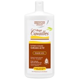 Roge Cavailles Gel bain et douche Surgras Actif Amande Verte 300 ML