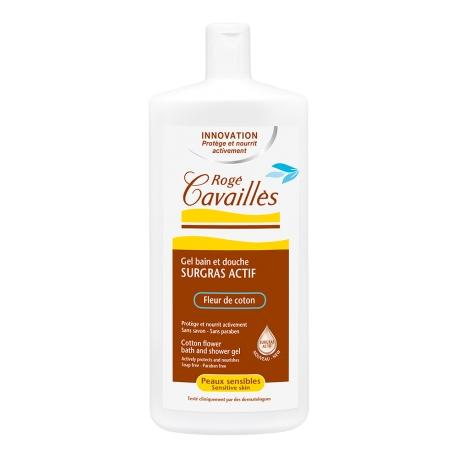 Roge Cavailles Gel bain et douche Surgras Actif Fleur de Coton 300 ML