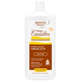 Roge Cavailles Gel bain et douche Surgras Actif Lait et Miel 300 ML
