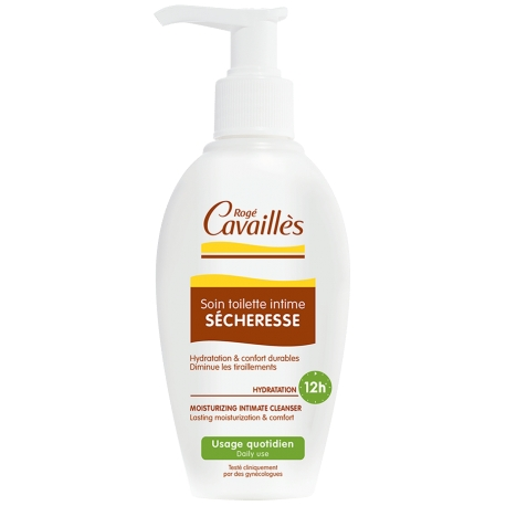 Roge Cavailles Soin Toilette Intime Secheresse 200 ML