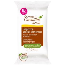 Rogé Cavaillès Intime Lingettes Spécial Sécheresse x 15
