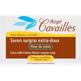 Roge Cavailles Savon Surgras Extra-doux Fleur de Coton 150 G