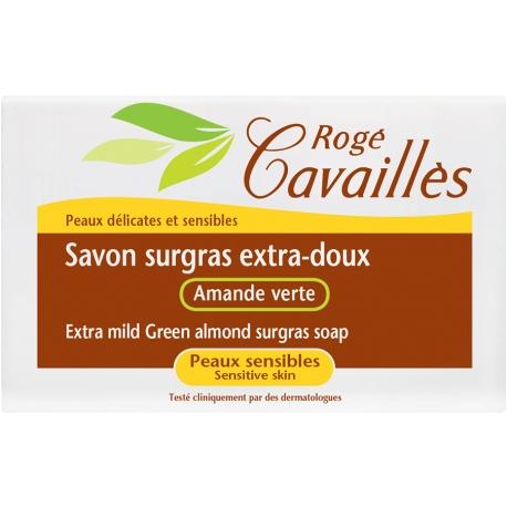 rogé cavaillès savon surgras extra-doux amande verte 150 g