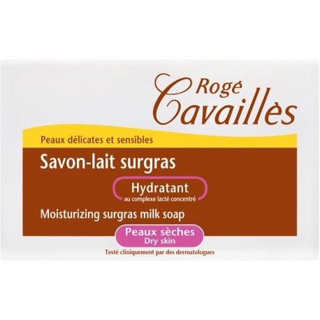 Roge Cavailles Savon Lait Surgras Hydratant Peaux Seches 100 G