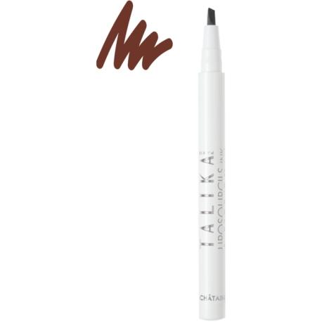 Talika Liposourcils INK Feutre Soin & Makeup Brun 0.8 ml