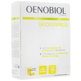 Oenobiol Détox Express Citron & Gingembre 10 Sticks