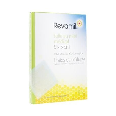 Revamil Tulle Au Miel Médical x 5