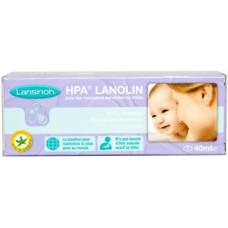 Lansinoh allaitement crèmen HPA lanoline 40 ml