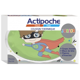 Actipoche Junior Coussin Thermique super Heros