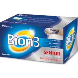 Bion3 Séniors Activateur de Vitalité 90 Comprimés