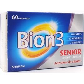 Bion 3 Seniors activateur de Vitalité 60 Comprimes