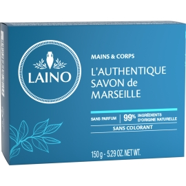 Laino Authentique Savon de Marseille Pain de 150 G
