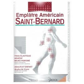 Saint-bernard Emplâtre Americain Tissu de 190x300 MM