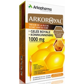 Arkopharma Arko Royal Gelée Royale 1000 mg 20 Ampoules