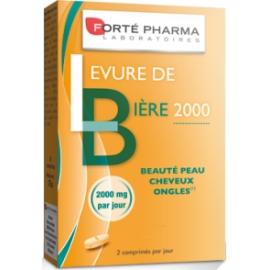 Forté Pharma Levure De Bière 2000 mg 56 Comprimés