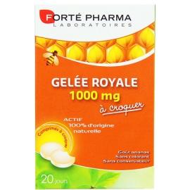 Forté Pharma Gelée Royale 1000 mg 20 Comprimés à Croquer