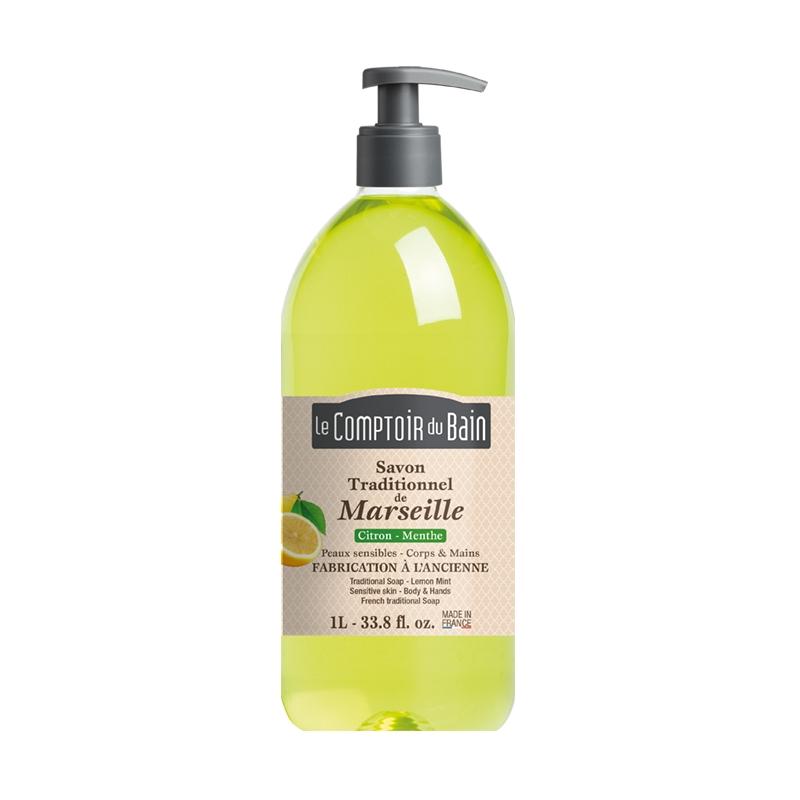 Le comptoir du bain savon tradidionnel de marseille citron for Le comptoir du meuble bruxelles