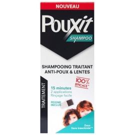 Pouxit Shampooing Traintant Anti-poux Et Lentes 200 ml