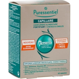 Puressentiel Capillaire Fortifiant Cheveux & Ongles 60 Capsules