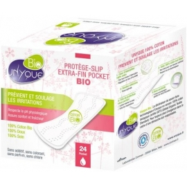 Unyque Bio Protège-slips Pockets Extra-fin x 24