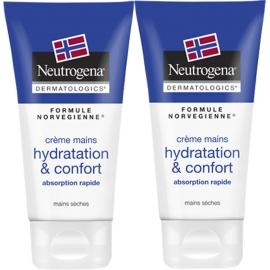 Neutrogena Crème Mains Hydratation & Confort 2 x 75 ml