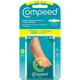 COMPEED CORS+ 6 PANSEMENTS