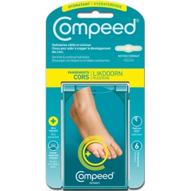 Compeed Pansements Cors Hydratant x 6