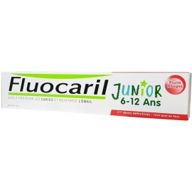 Fluocaril Dentifrice Junior 6-12 ans Fruits Rouges 75 ml