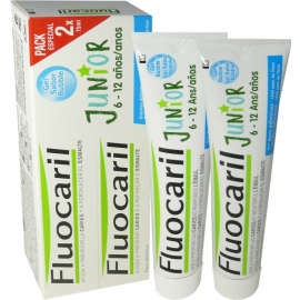 Fluocaril Dentifrice Junior 6-12 ans Gel Bubble 2 x 75 ml