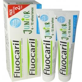 Fluocaril Dentifrice Junior 6-12 ans Gel Bubble 2 x 75 ml