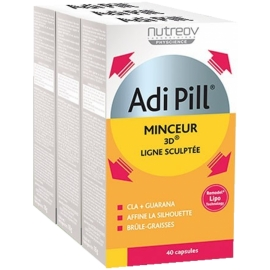 Nutreov Physcience Adi Pill Minceur 3D 3 x 40 Capsules