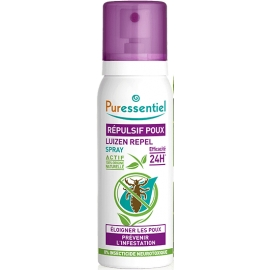 Puressentiel Spray Répulsif Poux Bio 100 ml