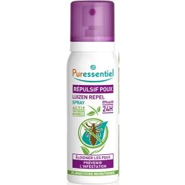 Puressentiel Spray Répulsif Poux Bio 100 ml