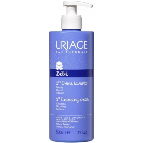 Uriage Bébé 1ère Crème lavante 500 ML