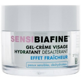 SensiBiafine Gel-Crème Visage Hydratant Désaltérant 50 ml