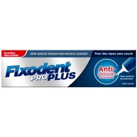 Fixodent Pro Plus Crème Adhésive Anti-Particules 57g
